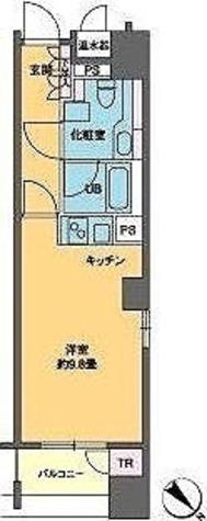 カスタリア銀座Ⅲ / 1K(30.13㎡) 部屋画像1