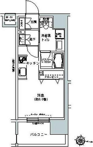 パークキューブ板橋本町 / 1階 部屋画像1