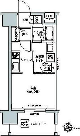 パークキューブ板橋本町 / 1K(23.97㎡) 部屋画像1
