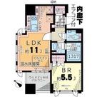 INPREST AKASAKA (インプレスト赤坂) / 1101 部屋画像1