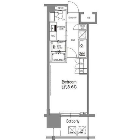 BPRレジデンス三田伊皿子坂 / 4階 部屋画像1