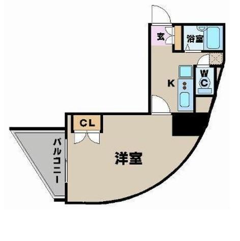 ヴェルト笹塚ツイン(Ⅰ棟) / 304 部屋画像1