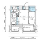 ディームス清澄白河 / 1DK(25.49㎡) 部屋画像1