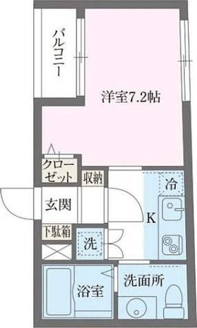 アルティザ池尻 / 1K(26.08㎡) 部屋画像1