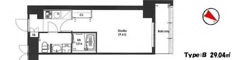 エスティメゾン東新宿 / 108 部屋画像1