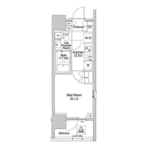 コンフォリア品川EAST / 501 部屋画像1