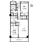 大岡山マンション / 206 部屋画像1