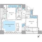 パークアクシス月島マチュアスタイル / 2LDK(57.03㎡) 部屋画像1