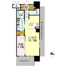 ロイヤルパークスERささしま / E-1LDK(47.74㎡) 部屋画像1