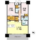 ロイヤルパークスERささしま / E-2LDK(72.84㎡) 部屋画像1
