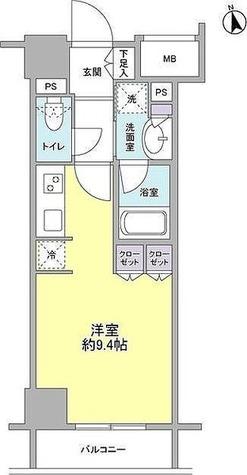 コンフォリア新宿御苑Ⅱ / 1階 部屋画像1