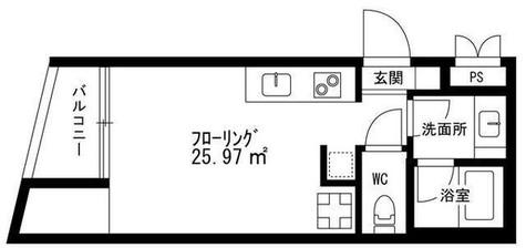 シグマ柿の木坂 / 5階 部屋画像1