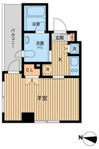 エスティメゾン武蔵小山(旧ジェイフラッツ武蔵小山) / 2階 部屋画像1