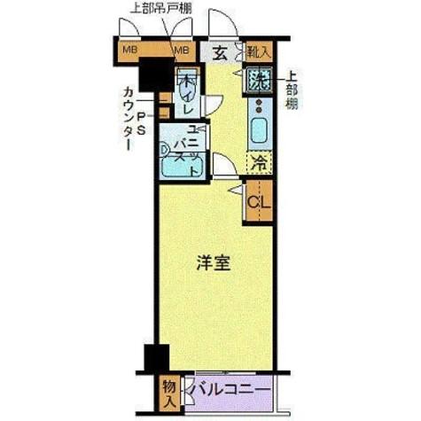 トーシンフェニックス五反田 / 3階 部屋画像1