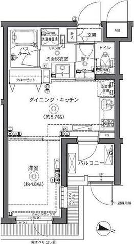ZOOM中野坂上 / 1DK(28.44㎡) 部屋画像1