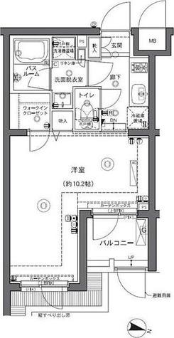 ZOOM中野坂上 / 1階 部屋画像1