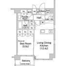 エルスタンザ平河町 / 1LDK(45.83㎡) 部屋画像1