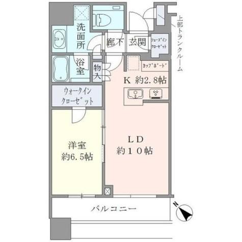 Brillia Towers目黒ノースレジ(ブリリアタワー目黒ノースレジ) / 3305 部屋画像1
