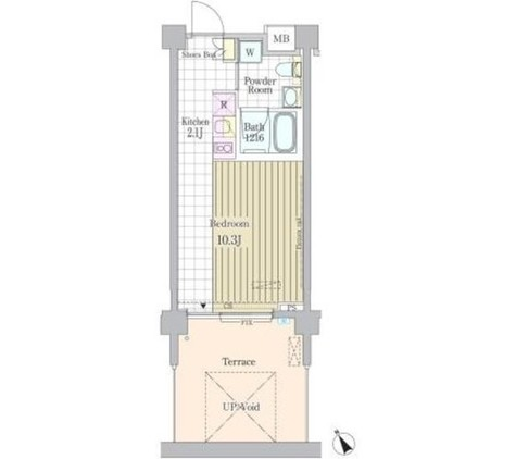 ガーデン原宿 / 1階 部屋画像1