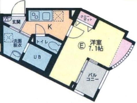 プレステージハマノ / 3階 部屋画像1