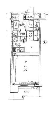 エルフラット横浜大通り公園(L-Flat横浜大通り公園) / 1R(33.10㎡) 部屋画像1