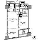 パークアクシス日本橋浜町 / 2LDK(50.17㎡) 部屋画像1