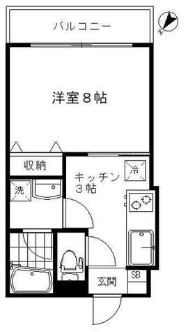 レジデンス後藤 / 403 部屋画像1