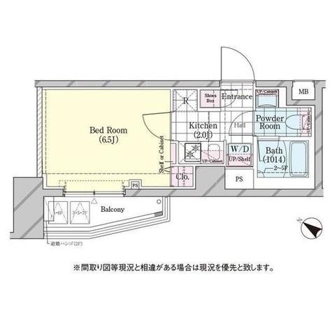 ディームス品川戸越 / 702 部屋画像1