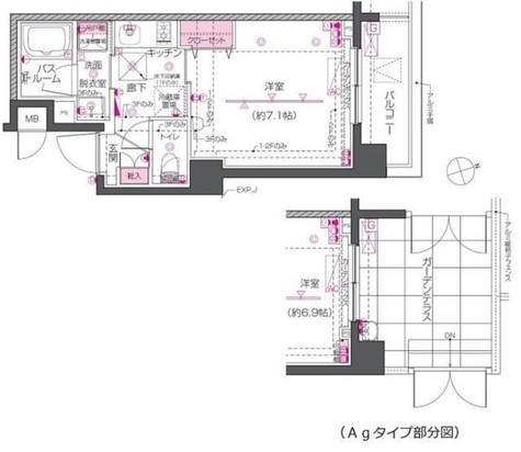 ZOOM戸越銀座 / 301 部屋画像1