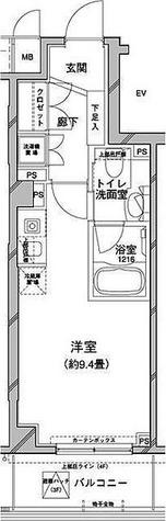コンフォリア目黒八雲 / 1R(27.76㎡) 部屋画像1