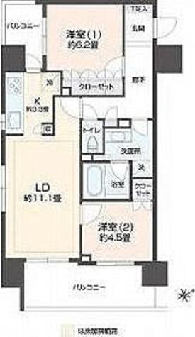 リエトコート浅草橋 / 1階 部屋画像1