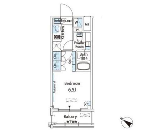 ベルファース西五反田 / 1204 部屋画像1