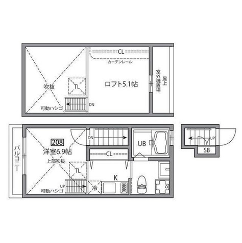 自由が丘 9分マンション / 208 部屋画像1