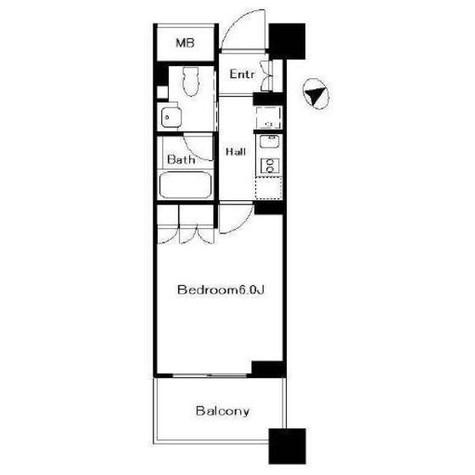 パークハウス代々木公園ラフィナート / 3階 部屋画像1