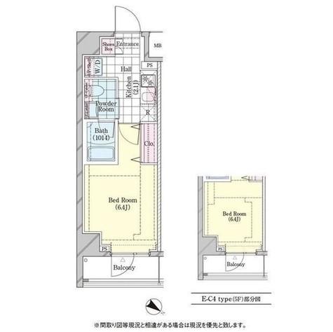 ディームス品川戸越 / 524 部屋画像1