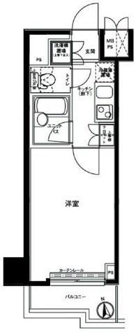 ルーブル野方参番館 / 7階 部屋画像1