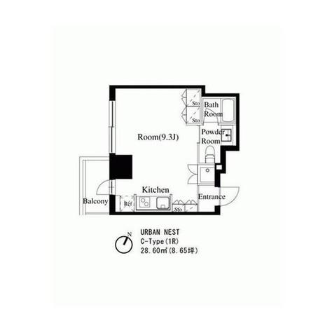 スタイリオ池尻大橋 / 8階 部屋画像1