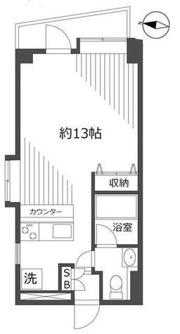 カーザ青葉台 / 301 部屋画像1