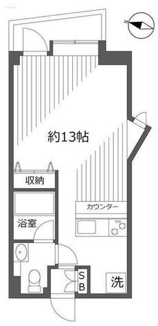 カーザ青葉台 / 202 部屋画像1