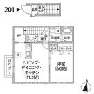 Comodia Misuzu / 201 部屋画像1