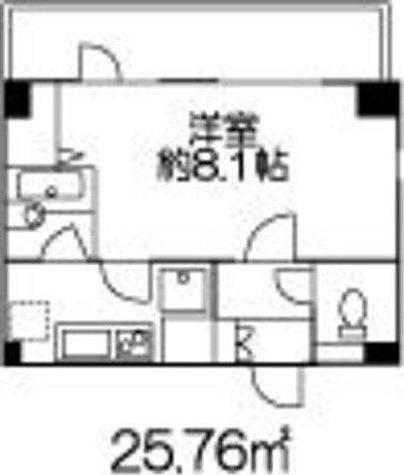ヒューリックレジデンス参宮橋 / 1K(25.76㎡) 部屋画像1