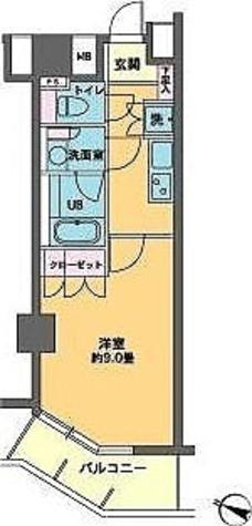 カスタリア大塚Ⅱ / 1K(30.03㎡) 部屋画像1