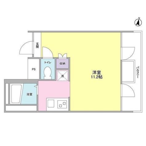ル・トラン代々木公園 / 3階 部屋画像1