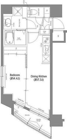 コンフォリア東池袋 / 1DK(30.40㎡) 部屋画像1