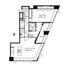 パークキューブ目黒タワー / 1805 部屋画像1