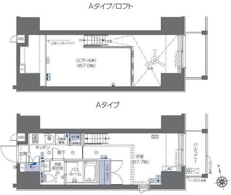 ZOOM六本木 / 501 部屋画像1