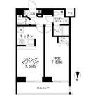 スカイコート品川パークサイド / 702 部屋画像1