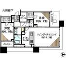 シティタワー武蔵小杉 / 2LDK(71.98㎡) 部屋画像1