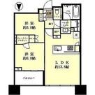 シティタワー武蔵小杉 / 2LDK(54.66㎡) 部屋画像1