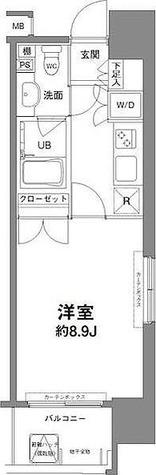 コンフォリア新宿御苑Ⅰ / 1K(28.43㎡) 部屋画像1